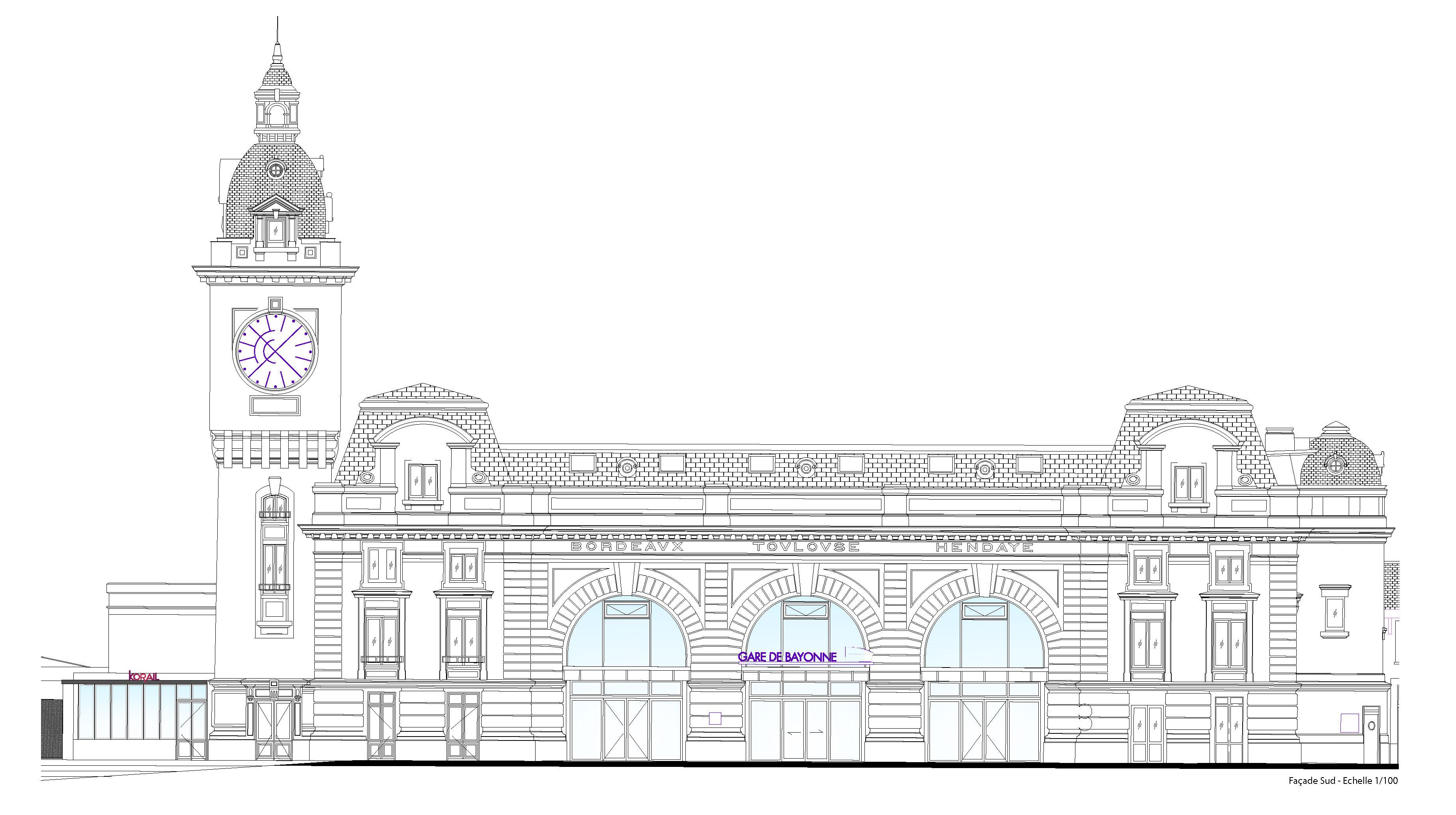 Création d'un tiers-lieu à la gare de Bayonne.