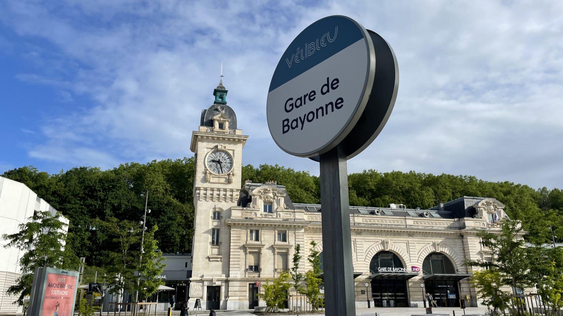 Restaurant à la gare de Bayonne